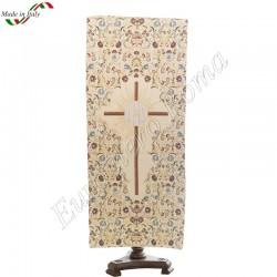 Croce con fiori