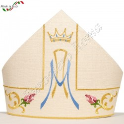Embroidered mitre