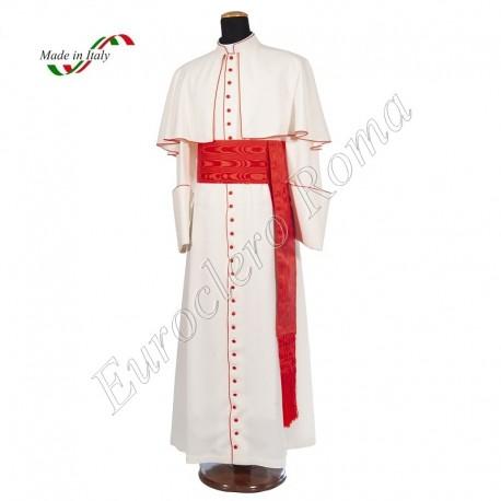 White cardinal cassock