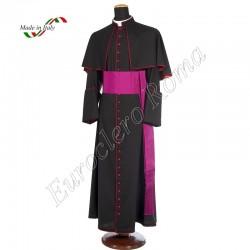Black cardinal cassock